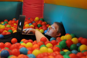 dom in bouncy ball pool by sk8geek